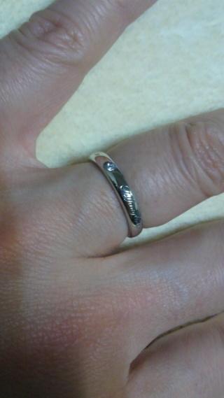 【ティファニー(Tiffany & Co.)の口コミ】 2粒以上のダイヤ入りというのと、なにか模様がほしかったのですが、なかな…