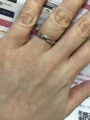 【JEWELRY  KAMATA(ジュエリーかまた)の口コミ】 自分たちだけのオリジナルデザインで指輪を作成させてくれるということで …