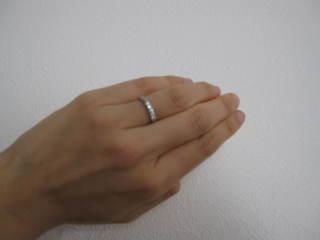 【ラザール ダイヤモンド(LAZARE DIAMOND)の口コミ】 ラザールダイヤモンドはダイヤのカットがとても美しく、ダイヤ自体に透明感…