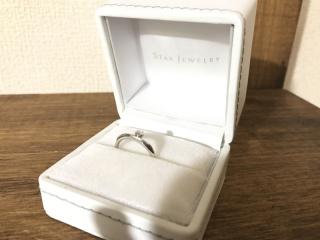 【スタージュエリー(STAR JEWELRY)の口コミ】 婚約指輪なので大まかにダイヤモンドが入っているリングを探していましたが…