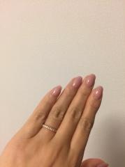 【ティファニー(Tiffany & Co.)の口コミ】 新しく結婚指輪を買い替えました。普段使いできるデザインで、さりげなく…