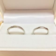 【ウィスプ(WISP)の口コミ】 お互いにディズニーが大好きで、ずっと身に付けていく結婚指輪もディズニ…