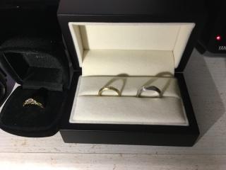 【JEWELRY  KAMATA(ジュエリーかまた)の口コミ】 婚約指輪を先に購入していたこともあり、他のお店は検討していませんでした…