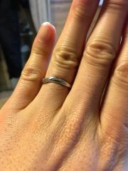 【Sainte Pure(セントピュール)の口コミ】 婚約指輪と結婚指輪を一緒に購入しようと考えてました。お互い当時は結婚す…