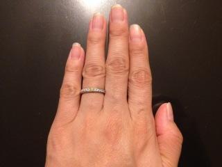 【銀座ダイヤモンドシライシの口コミ】 婚約指輪を彼からサプライズでいただき、それが銀座ダイヤモンドシライシの…