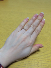 【GARNI(ガルニ)の口コミ】 このブランドを選んだのは、主人が学生時代から結婚指輪はGARNIで作る…