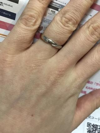 【JEWELRY  KAMATA(ジュエリーかまた)の口コミ】 オリジナルデザインの指輪に対応してくれるお店で限定して検討して決めまし…