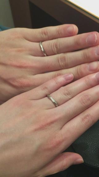 【銀座ダイヤモンドシライシの口コミ】 彼からの婚約指輪はダイヤモンドシライシさんのRadiant daysで…