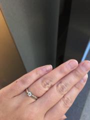 【ティファニー(Tiffany & Co.)の口コミ】 婚約指輪と言えば「ティファニー」というイメージは、結婚が決まる以前から…