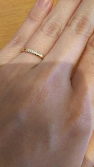 【アイプリモ(I-PRIMO)の口コミ】 K18イエローゴールドかつ細身の指輪がよかったのでハイブランドやお手頃…