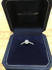 【銀座ダイヤモンドシライシの口コミ】 色々な種類の指輪を見せて頂きましたが、やはり第一印象の1番良かったこの…