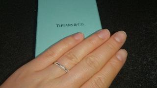 【ティファニー(Tiffany & Co.)の口コミ】 流行りのダイヤ入りなども試着しましたが、毎日身に着ける指輪としては脱…