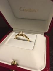 【カルティエ(Cartier)の口コミ】 王道のソリテールが欲しくて各ブランドの有名どころをいくつかピックアップ…