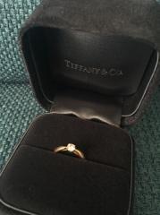 【ティファニー(Tiffany & Co.)の口コミ】 「プロポーズにはやっぱりTiffanyのエンゲージリングがいいなぁ~」…