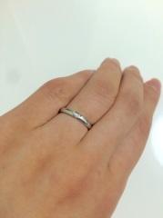 【LEGAN(レガン)の口コミ】 ツインズキューピッドという1つのダイヤから2つの指輪を作るというシリー…