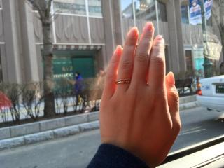 【ティファニー(Tiffany & Co.)の口コミ】 指輪にこだわりはなかったですが、是非贈らせて欲しい!と夫からの要望があ…