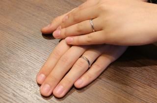 【アトリエミラネーゼの口コミ】  自分達だけの結婚指輪がほしくてネットであらゆるお店に問い合わせしまし…