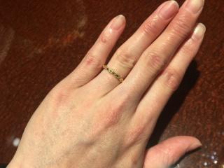 【JEWELRY  KAMATA(ジュエリーかまた)の口コミ】 ジュエリーかまたさん青森店へ行き、1番最初に見せて頂いた指輪です。一目…