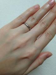 【ete(エテ)の口コミ】 もともと好きなジュエリーブランドで、結婚指輪もここのブランドにしたかっ…