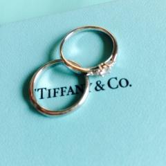 【ティファニー(Tiffany & Co.)の口コミ】 シンプルだけど少し特徴のあるものにしました!たくさん種類があって迷っ…