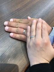 【アトリエミラネーゼの口コミ】 初めは色々な指輪を見て、意味を知りながら自分に合う指輪と出会う事が出…
