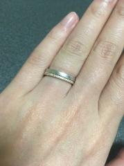 【TASAKI(タサキ)の口コミ】 結婚指輪はずっとするし毎日するものなので、デザイン性のあるものよりも…