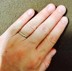 【MIKIMOTO(ミキモト)の口コミ】 結婚が決まり、すぐに購入に行きました。普段からシンプルなものが好きな…