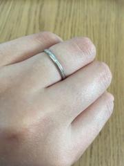 【ギンザタナカブライダル(GINZA TANAKA BRIDAL)の口コミ】 そこまで指輪にこだわりがなく(普段つけないのでなくてもいいと思ってまし…