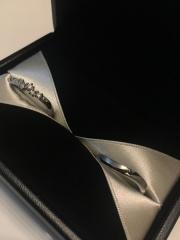 【エクセルコダイヤモンド(EXELCO DIAMOND)の口コミ】 元々安くてダイヤが付いている指輪を購入しようと考えていましたが、エクセ…