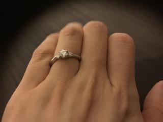 【ラザール ダイヤモンド(LAZARE DIAMOND)の口コミ】 他の店舗と比べてダイヤモンドの輝きが違うということが一番の決め手でした…