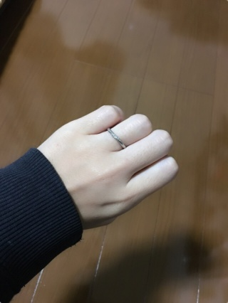 【BIJOUPIKO(ビジュピコ)の口コミ】 若くして結婚し、初めての高額なお買い物だったので長い時間悩みました。 …