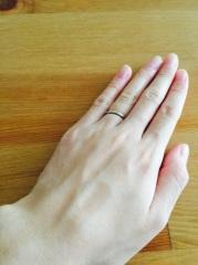 【カルティエ(Cartier)の口コミ】 結婚してから、ずっと着ける事になる指輪。昔から憧れていたカルティエに…