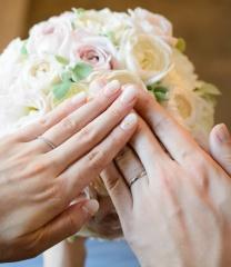 【スタージュエリー(STAR JEWELRY)の口コミ】 普段からあまりアクセサリーは身に着けないので、結婚指輪もシンプルなもの…