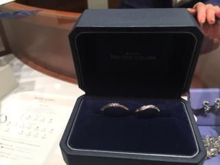 【銀座ダイヤモンドシライシの口コミ】 ダイヤモンドが入っている結婚指輪が欲しかったけど、服にひっかかるのがネ…