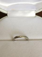 【L'or(ロル)の口コミ】 ストレートのデザインで、プラチナの指輪を探していてこちらにたどり着きま…