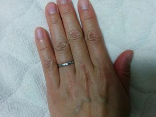 【カルティエ(Cartier)の口コミ】 毎日つけるものなので、シンプルで男女ペアな指輪があったので決めました…