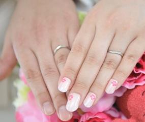 【snow(スノウ)の口コミ】 自分の指が太くてなかなか似合う指輪はないんじゃないかなと思っていたの…