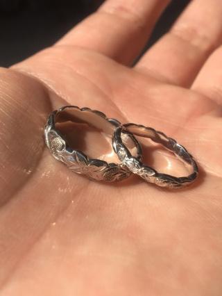 【PRIVATE BEACH(プライベートビーチ)の口コミ】 結婚指輪はハワイアンジュエリーと決めていて、海が好きな私たちにとっては…