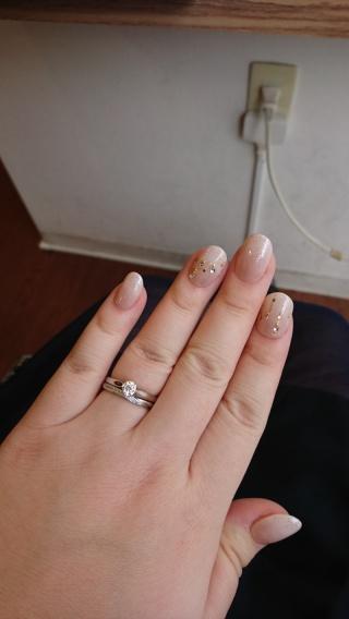 【エクセルコダイヤモンド(EXELCO DIAMOND)の口コミ】 3箇所の指輪で悩みましたが、お店で待たされず、親身に相談に乗ってくれた…