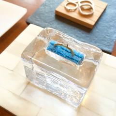 【mina.jewelry(ミナジュエリー)の口コミ】 フルオーダーなので好きなデザインにできました! 参考にできるものがお店…