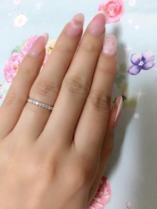 【銀座ダイヤモンドシライシの口コミ】 婚約指輪をエタニティリングにしたくて探していました。いろんな店舗でエ…