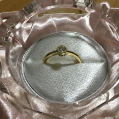 【JEWELRY  KAMATA(ジュエリーかまた)の口コミ】 デザインが理想通りのものができました。婚約指輪ですが、普段使いができ…