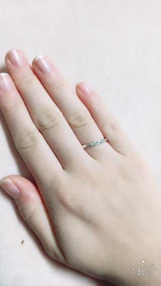 【サマンサシルヴァブライダルの口コミ】 他に検討していた指輪と比べて価格が安く購入しやすかったことがまず第一…
