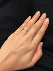 【PILOT BRIDAL(パイロットブライダル)の口コミ】 インターネットで結婚指輪を色々と検索している際、万年筆で有名なPILOTが…