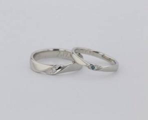 【JEWELRY  KAMATA(ジュエリーかまた)の口コミ】 どんな指輪がいいのか全く決まっていなかったのですがお店に行きたくさんの…