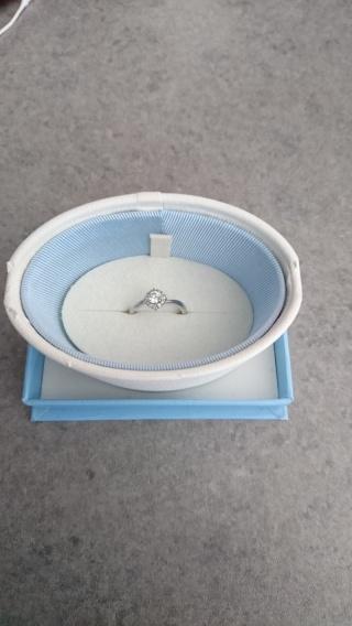 【canal4℃(カナルヨンドシー)の口コミ】 25万以内で婚約指輪を探していました。婚約指輪としてはお手頃の方なので…