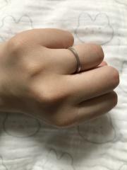 【agete(アガット)の口コミ】 華奢なリングが欲しかったのですが、耐久性に問題があると言われ悩んでいた…