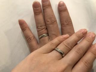 【Jewel HAMA(ジュエルはま)の口コミ】 店頭に置いてある指輪はどれもデザインが決まっており、他の方とかと同じに…