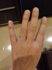 【ギンザタナカブライダル(GINZA TANAKA BRIDAL)の口コミ】 一生に一度の結婚指輪のため、また金属アレルギーがあるため、プラチナの…
