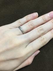 【festaria bijou SOPHIA(フェスタリア ビジュソフィア)の口コミ】 婚約指輪を買ってもらったブランドと同じところにしよう、と2人で話し合っ…